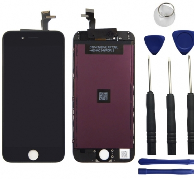 Black iPhone 6 Full Original LCD screen Digitizer Assembly Replacement,Low Price For iPhone 6 display OEM